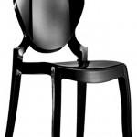 Queen 650 La silla Queen esta realizada completamente en policarbonato, material resistente y apto para cualquier ambiente.